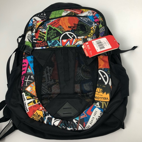 33b3a026b Brand new The North Face Recon Backpack Print NWT